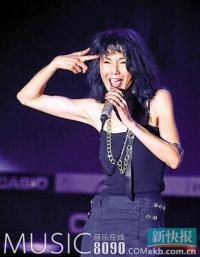 张曼玉音乐节献唱内幕:曾不满意彩排想退出[图]